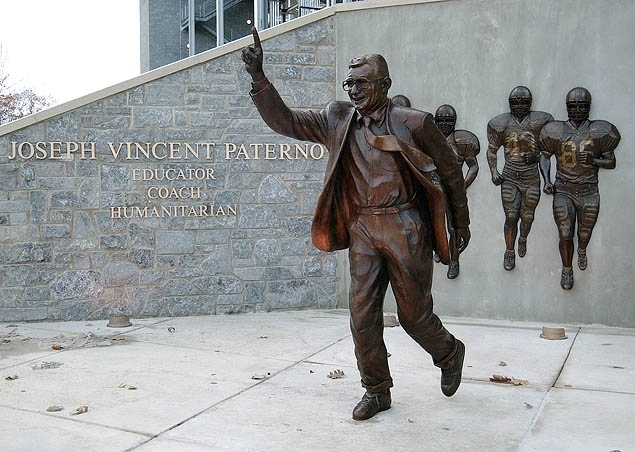 Image result for joe pa statue