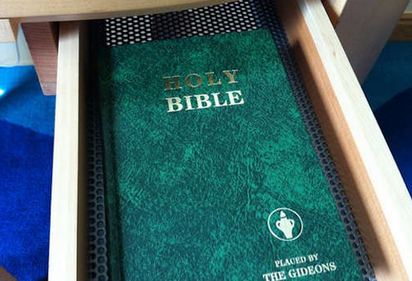 Gideon Bibles Hotel Rooms