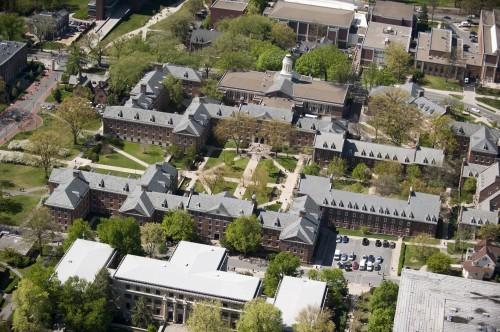 West Halls Overhead