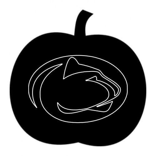 Halloween penn state pumpkin carving stencils