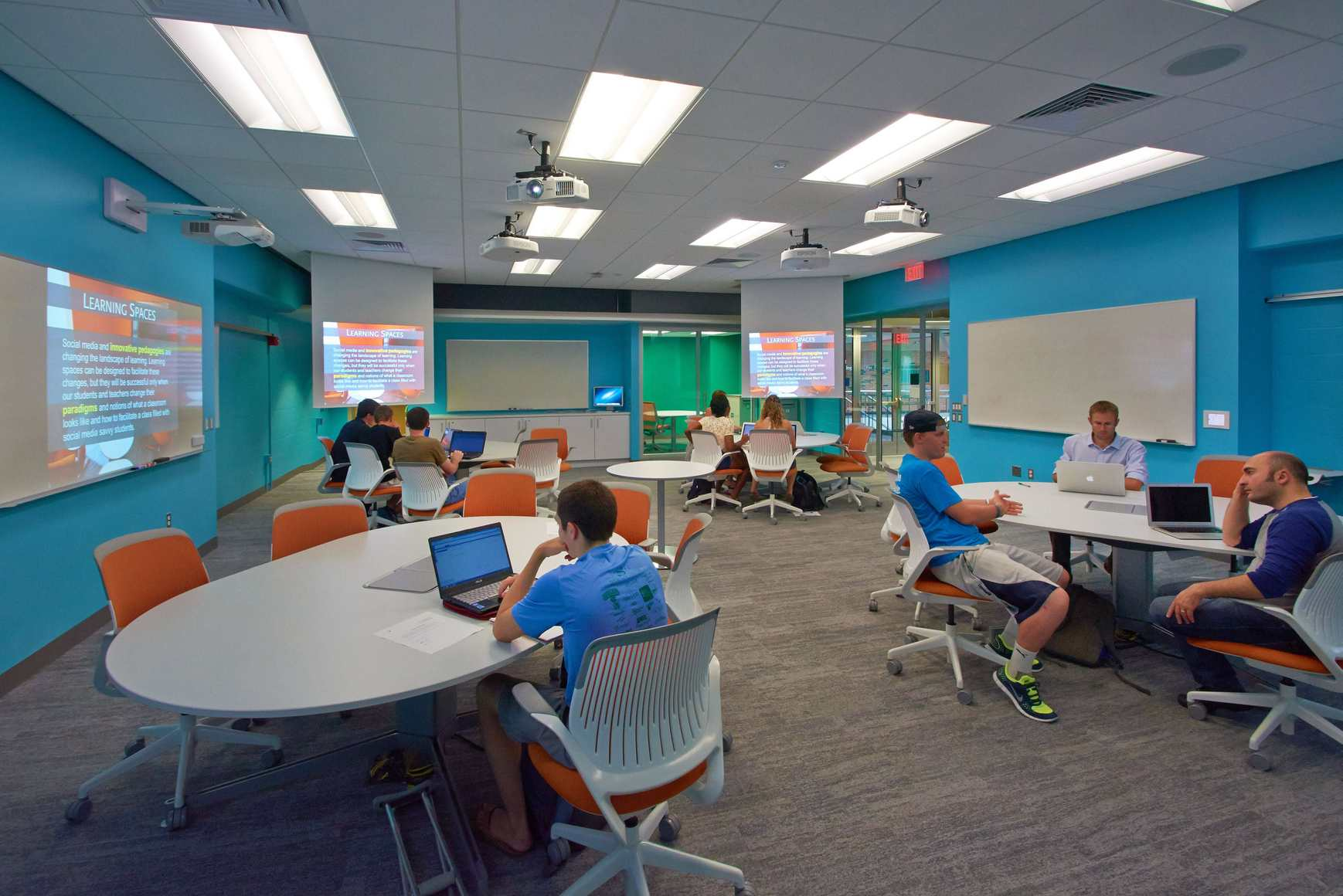 Innovative Classroom Spaces ~ The krause innovation studio hints at future of education