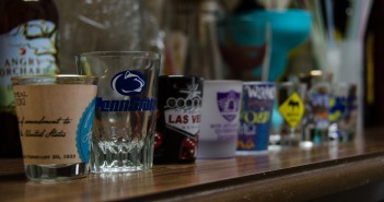 Party Shot Glass Stock