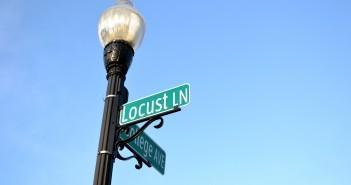 Stock Locust Lane Sign 2