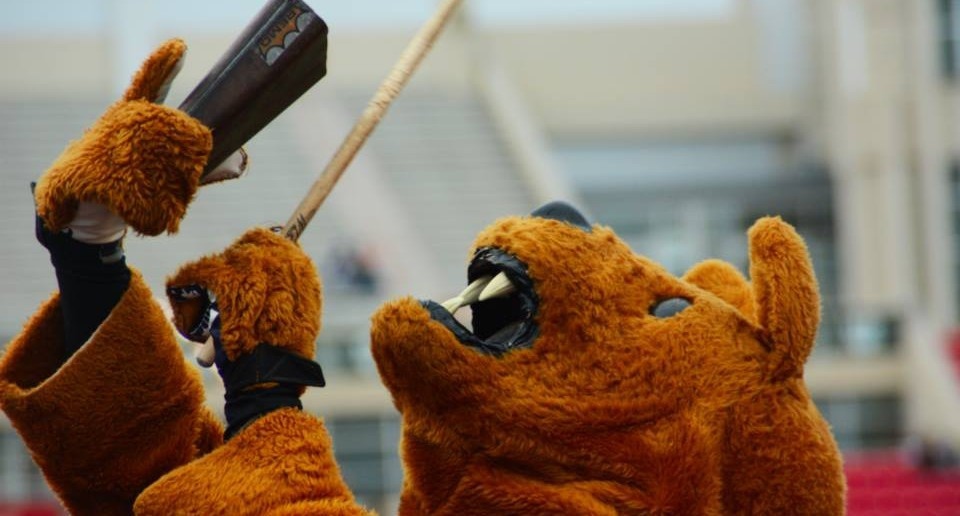 nittany lion mascot cowbell