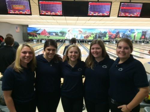 Women's bowling team
