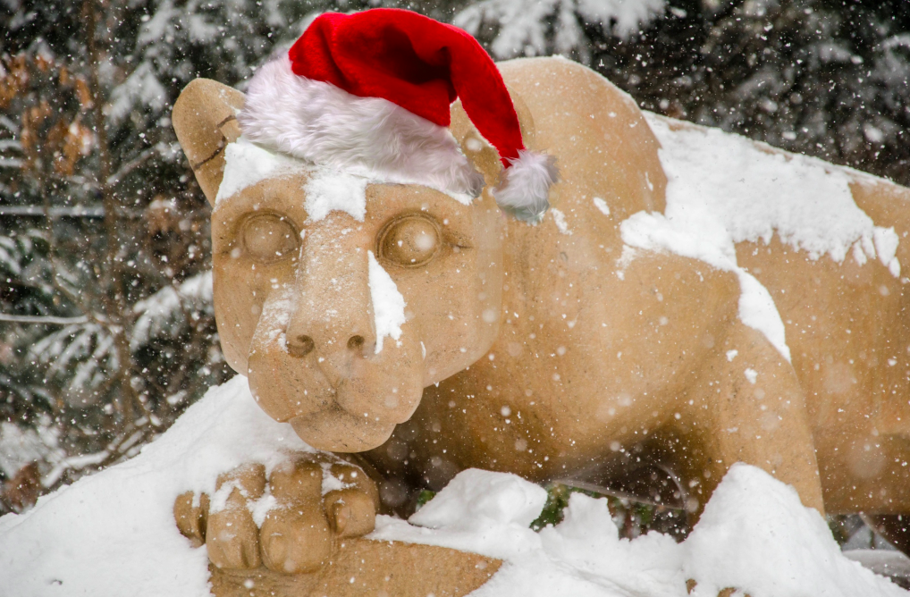 The 12 days of penn state christmas onward state for Penn state decorations home