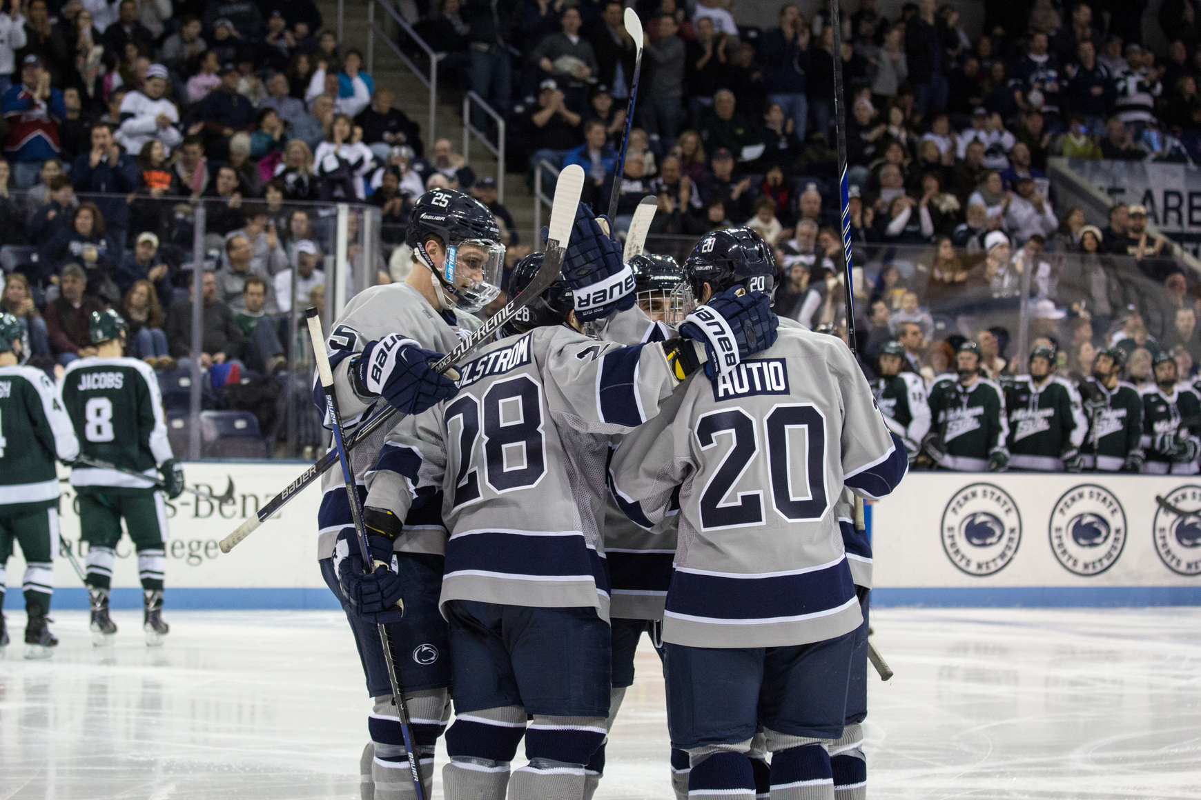 penn state hockey: 2015 season report card