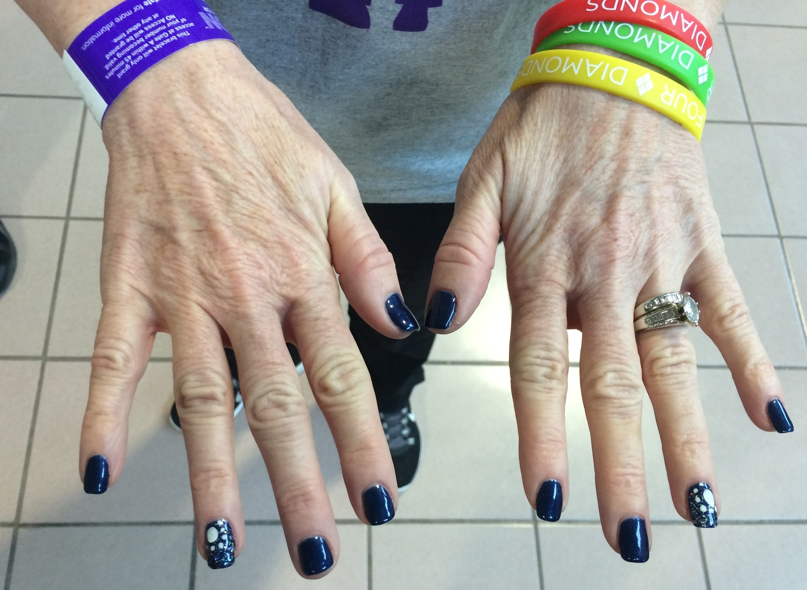 The Best THON Nail Art