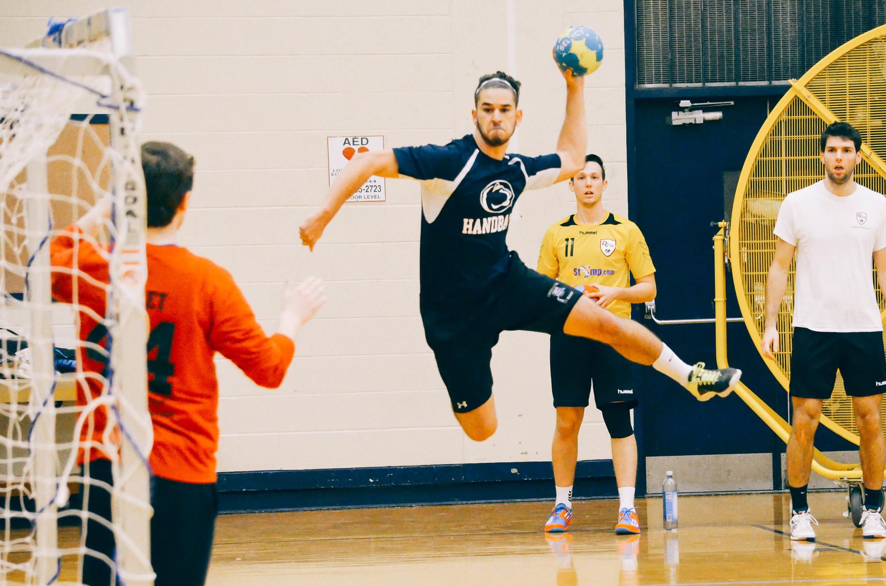 Team handball court