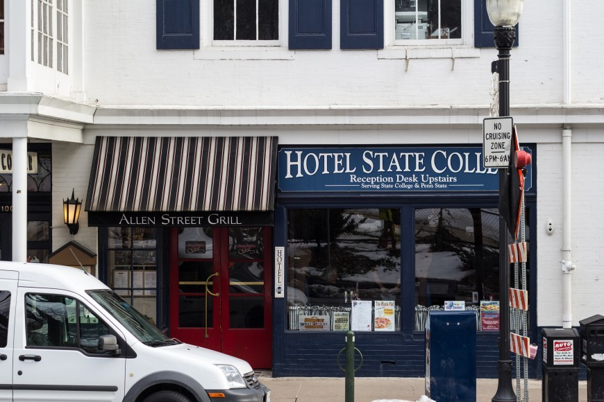 Downtown Historical Buildings Telling State College S History