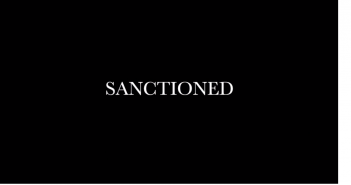 Sanctioned