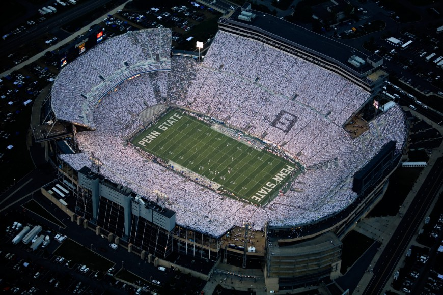 Beaver Stadium A Visual History Through The Years