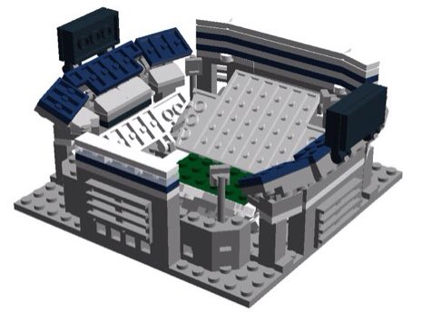 Dotd Check Out This Beaver Stadium Made Of Legos