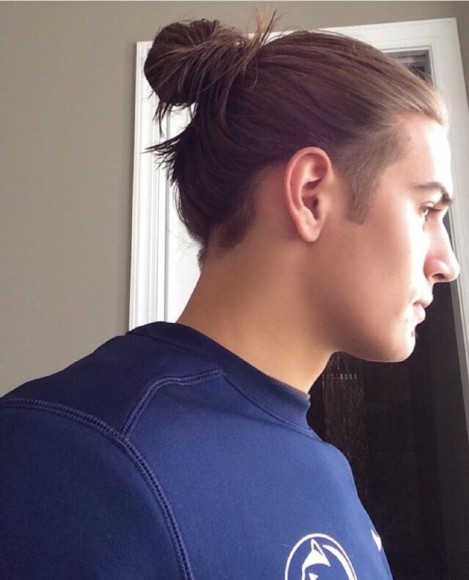19 College Hairstyles For Guys: The Best Man Buns And Beards Of State College