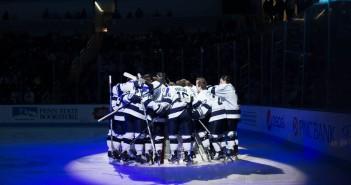 alex robinson men's hockey pegula stock team pregame cool