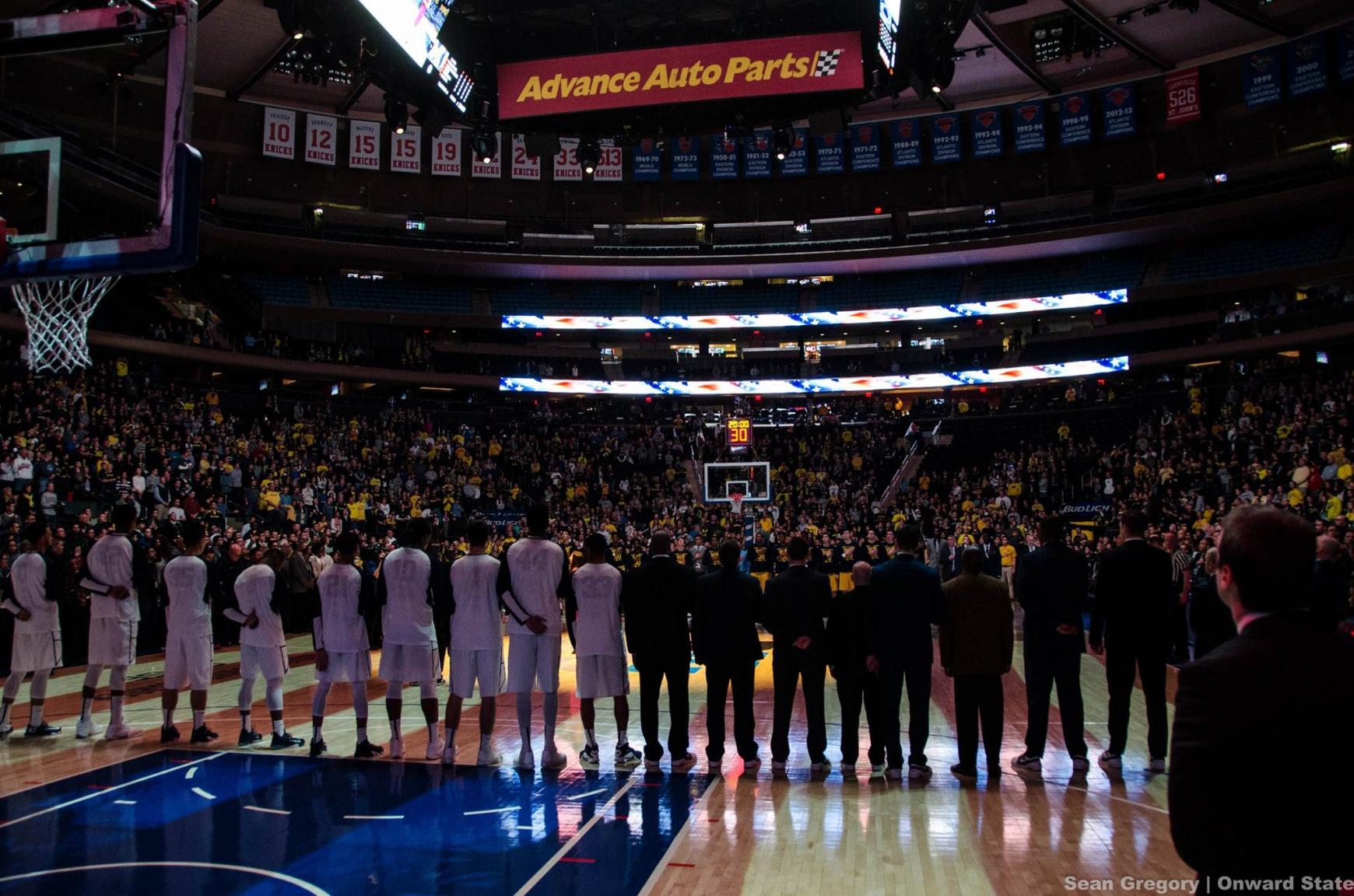 Madison Square Garden Basketball To Hockey Best Idea Garden