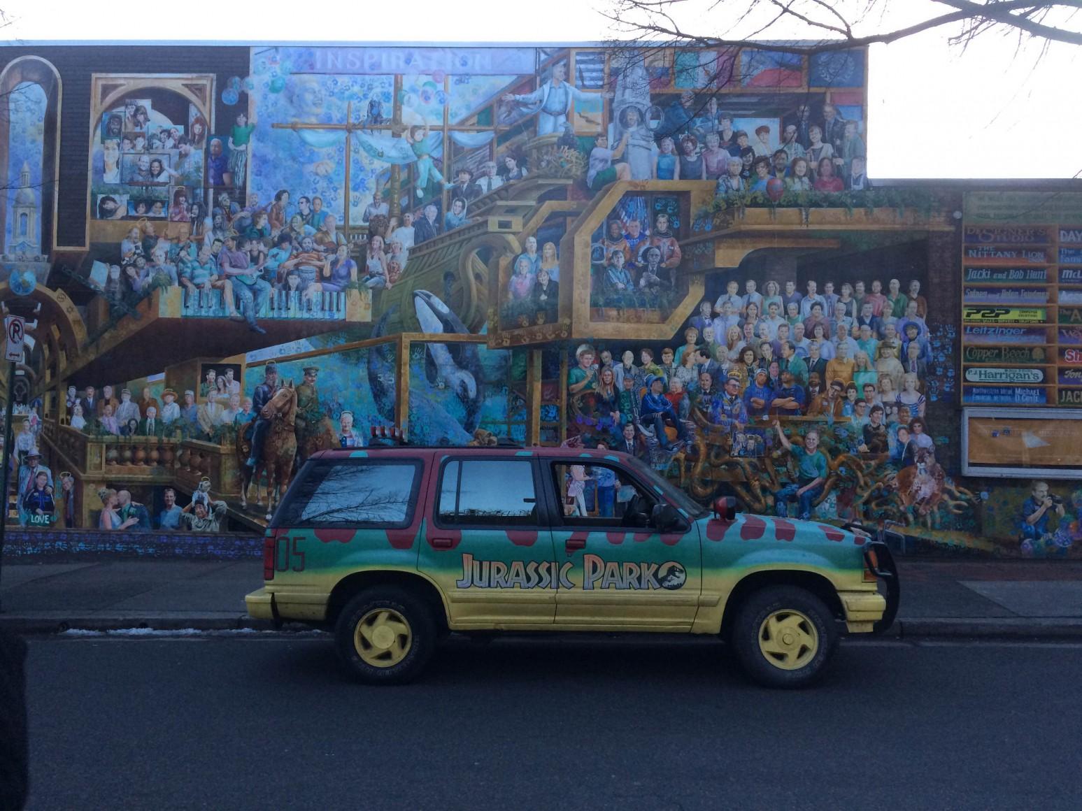 wrapfolio jeep for park tag fj cruiser wraps sale jurassic wrap