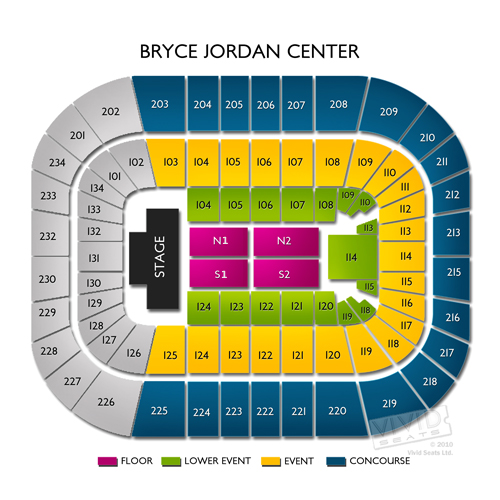 Where s my org your guide to the bjc arena