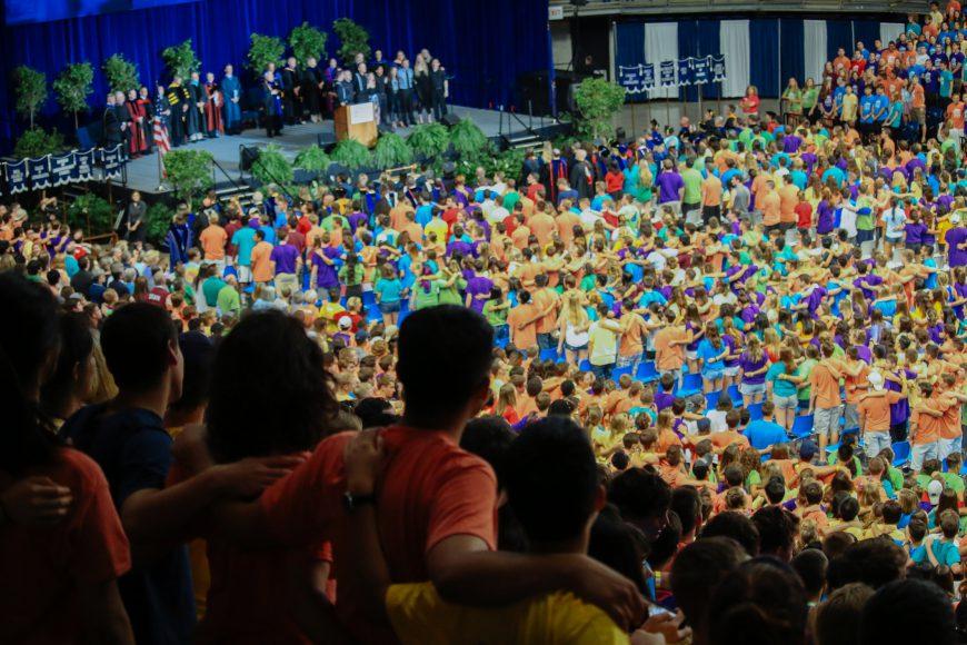 Convocation 2016 freshmen