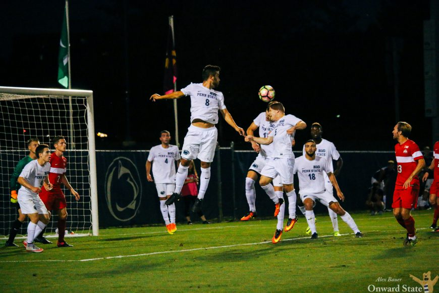 Penn State Men's Soccer Ties UC Irvine 1-1 In Double ...