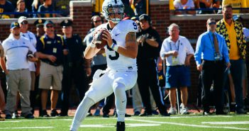 Trace McSorley Penn State Football vs Michigan 2016