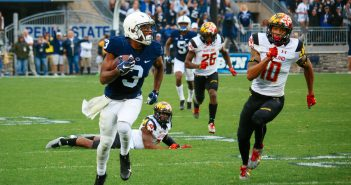 DeAndre Thompkins Penn State Football vs. Maryland 2016