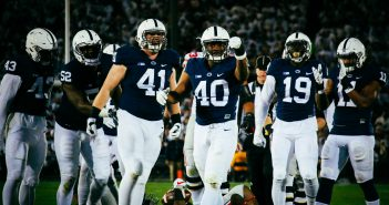 Jason Cabinda, Zach Ladonis, Torrence Brown, Defense Penn State Footbal vs. Ohio State 2016