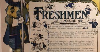 Freshmen rules