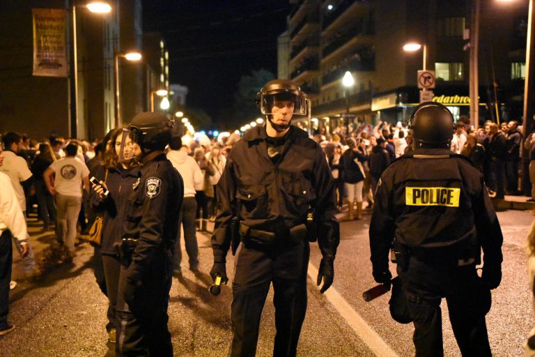 an analysis of the pennsylvania state university riots The pennsylvania state university the graduate school the eberly college of science analysis of the undergraduate curriculum department of physics.