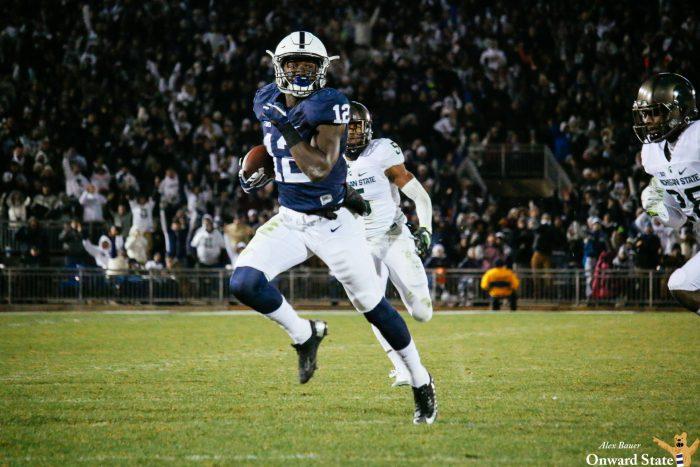 Chris Godwin Penn State Football vs Michigan State 2016