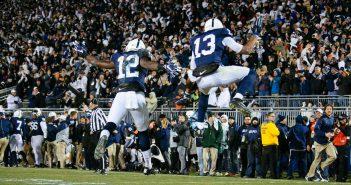 Chris Godwin and Saeed Blacknall Penn State Football vs Michigan State 2016