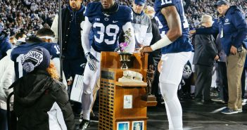 HELL YEAH LAND GRANT TROPHY Penn State Football vs Michigan State 2016