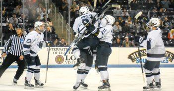 Penn State Ice Hockey Goal Ricky DeRosa