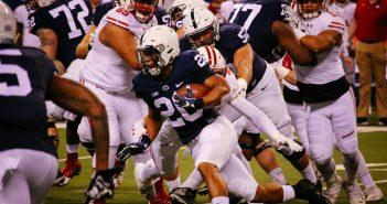 Saquon Barkley Penn State Football vs Wisconsin Big Ten B1G Championship 2016