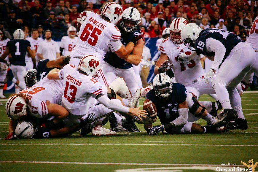 defense fumble Penn State Football vs Wisconsin Big Ten B1G Championship 2016