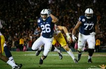 Saquon Barkley Mike Gesicki and Chris Godwin Penn State Football vs USC University of Southern California Rose Bow Game 2017