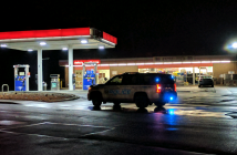 uni-mart police night w aaron drive