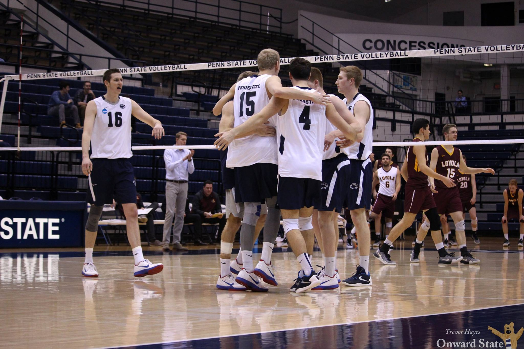 Penn State Men's Volleyball Wins EIVA Conference Title ...
