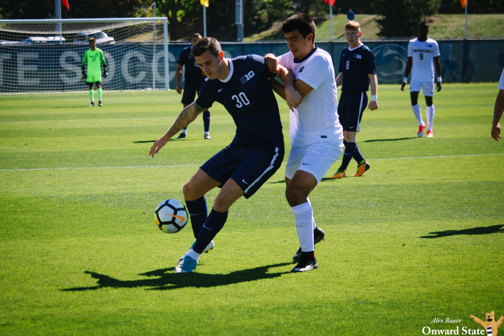Levine, Men's Soccer Fall To No. 2 Indiana In Hard-Fought ...