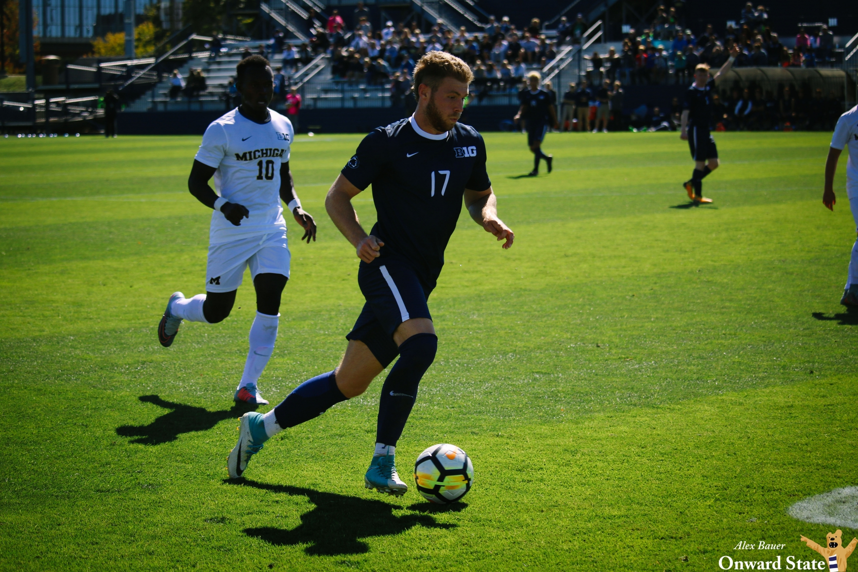 Penn State Men's Soccer's Cameron Steele Signs With Hometown Pro