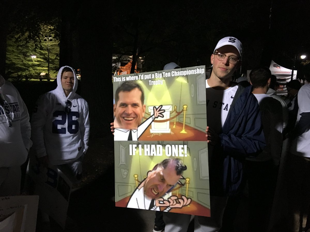 The Best College GameDay Signs From Penn State-Michigan ...