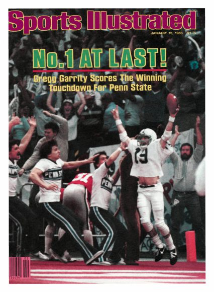 History Of Penn State Themed Sports Illustrated Covers Onward State